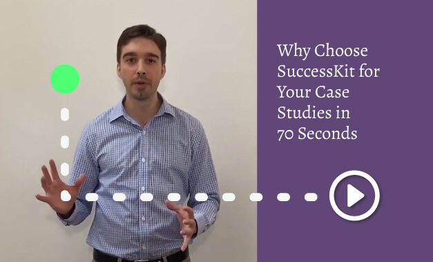 """Featured image for the video """"Why Choose SuccessKit for Your Case Studies in 70 Seconds"""""""