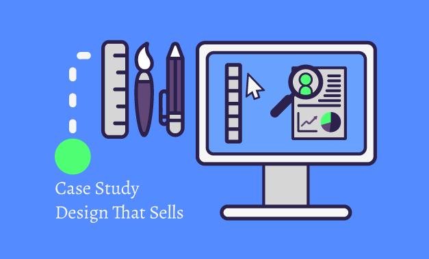 Vector illustration for the blog post Case Study Design That Sells