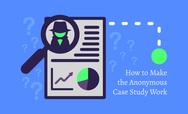 """Vector art illustration for the article """"How to Make the Anonymous Case Study Work"""""""